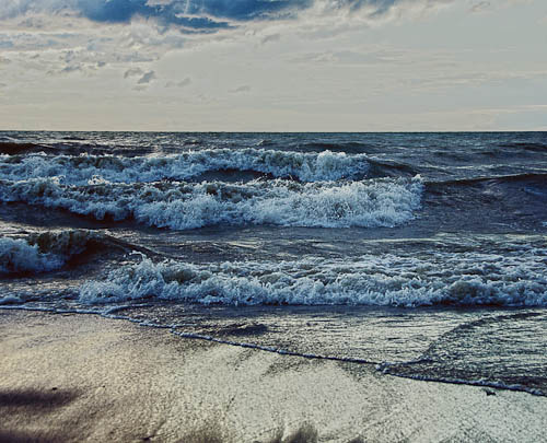 Lake Erie Waves